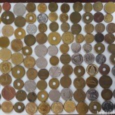 Monedas locales: LOTE 100 MONEDAS TOKEN 1A. Lote 242362145