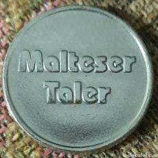 Monedas locales: MONEDA TOKEN MALTESER TALER. Lote 242428920