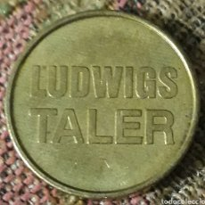 Monedas locales: MONEDA TOKEN LUDWIGS TALER KLUG. Lote 242429070