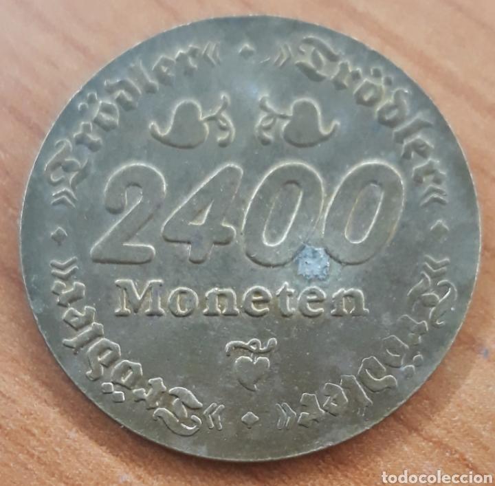 Monedas locales: Moneda token Erdinger Weisbrau 2400 moneten - Foto 2 - 242943375