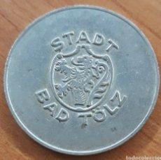 Monnaies locales: MONEDA TOKEN STADT BAD TÖLZ HALLENBAD. Lote 242950640