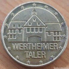 Monnaies locales: MONEDA TOKEN WERTHEIMER TALER. Lote 242951450