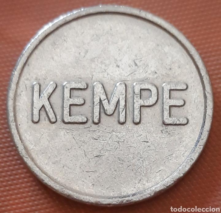 MONEDA TOKEN KEMPE (Numismática - España Modernas y Contemporáneas - Locales y Fichas Dinerarias y Comerciales)