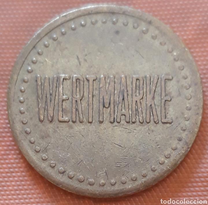 MONEDA TOKEN WERTMARKE (Numismática - España Modernas y Contemporáneas - Locales y Fichas Dinerarias y Comerciales)
