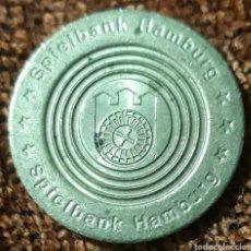Monnaies locales: MONEDA TOKEN HAMBURGER RATTAUS SPIELBANK. Lote 243646430