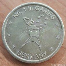 Monnaies locales: MONEDA TOKEN GACK N°1 UN GAMES GERMANY. Lote 243775205