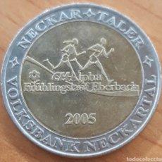 Monedas locales: MONEDA TOKEN 1 NECKAR TALER 2005. Lote 243779120