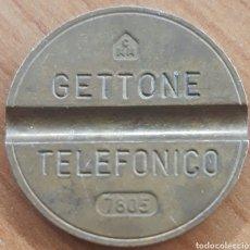 Monedas locales: MONEDA TOKEN TELÉFONO N°7805. Lote 243784700