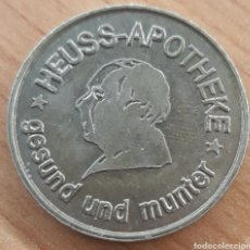 Monedas locales: MONEDA TOKEN 1 HEUSS TALER BRACKENHEIM. Lote 243786785