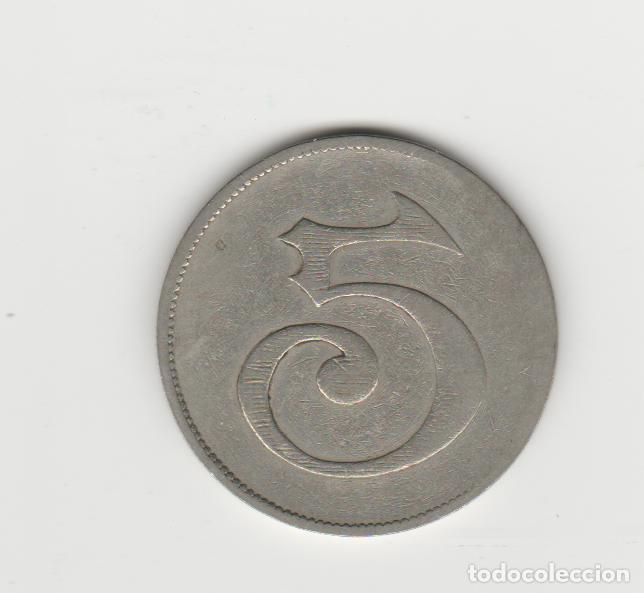 Monedas locales: TOKEN/JETON/FICHA- LA CASILLA-MORON-5 PESETAS - Foto 2 - 244038285