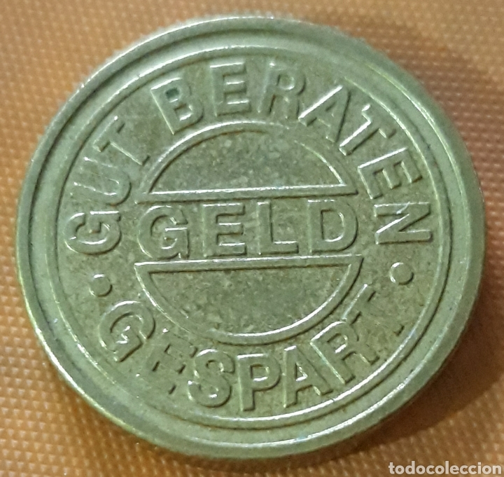 Monedas locales: Moneda token Victoria taler Gespart - Foto 2 - 244397610