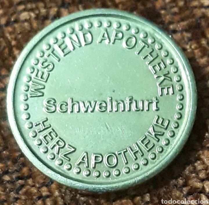 Monedas locales: Moneda token Herz taler Schweinfurt - Foto 2 - 244447660