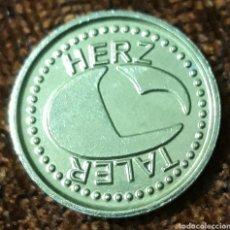 Monedas locales: MONEDA TOKEN HERZ TALER SCHWEINFURT. Lote 244447660