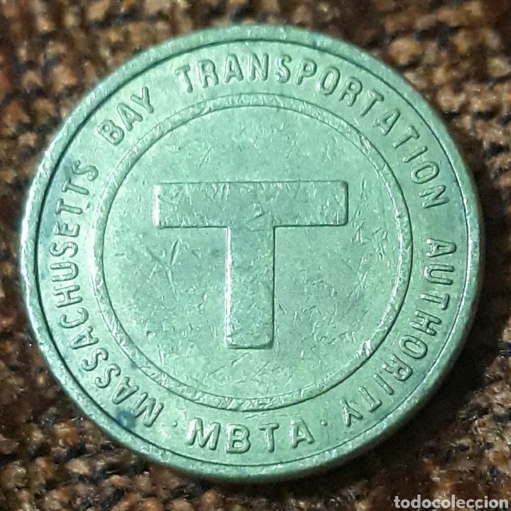 Monedas locales: Moneda token Massachusetts Bay Transportation Autority - Foto 2 - 244448590