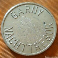 Monedas locales: MONEDA TOKEN GARNY NACHT TRESOR. Lote 244873475