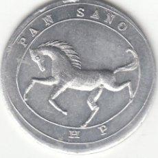 Monete locali: FICHA: PAN SANO - H.P. (HARINO PANADERA - BILBAO ) -1- KILO / 17-3-36. Lote 245056745