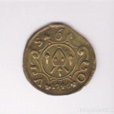 Monedas locales: MONEDA CATALANA LOCAL - PELLOFA (6 SOUS) 1746 - SANT SEVER-BARCELONA - CR-1300 (MBC+). Lote 245157865