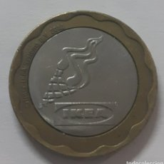Monedas locales: MONEDA TOKEN IKEA 2011. Lote 245272395