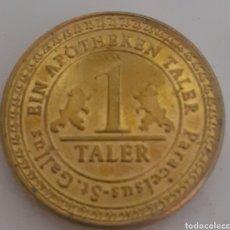 Monedas locales: MONEDA TOKEN GALLUSEINAPOTHEKEN TALER. Lote 245422270