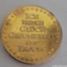 Monedas locales: MONEDA TOKEN JEFE ISTMO AFINES GRUCKES 2013. Lote 245423625