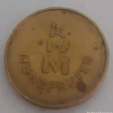 Monedas locales: MONEDA TOKEN DE KWM MUNZPRUFER. Lote 245426295