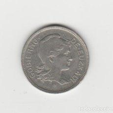 Monedas locales: 2 PESETAS-1937-EUZKADI. ERROR DE ACUÑACION. Lote 245730330