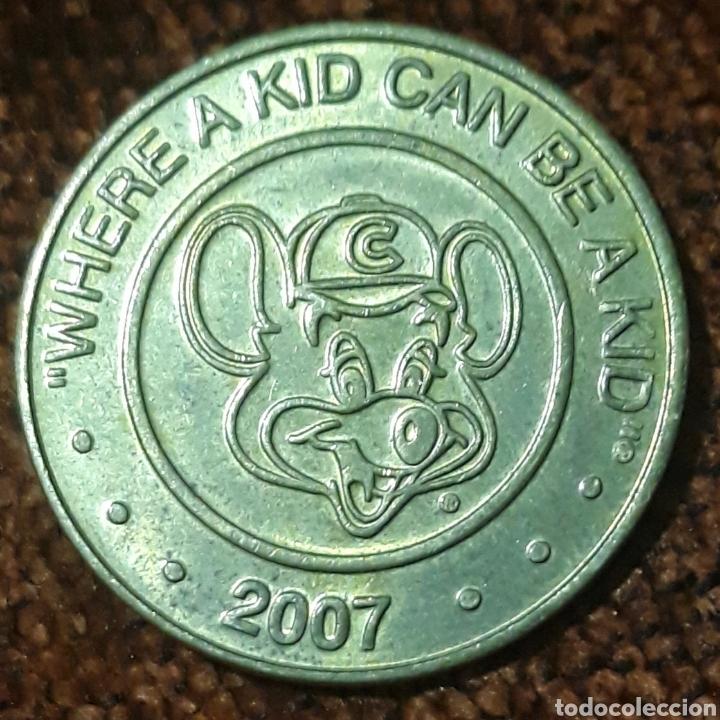 MONEDA TOKEN WHERE A KID CAN BE A KID 2007 (Numismática - España Modernas y Contemporáneas - Locales y Fichas Dinerarias y Comerciales)
