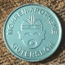 Monedas locales: MONEDA TOKEN 1 MOHREN TALER GÜTERSLOH. Lote 245971365