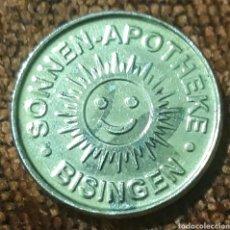 Monedas locales: MONEDA TOKEN SONNEN TALER BISINGEN. Lote 245973380