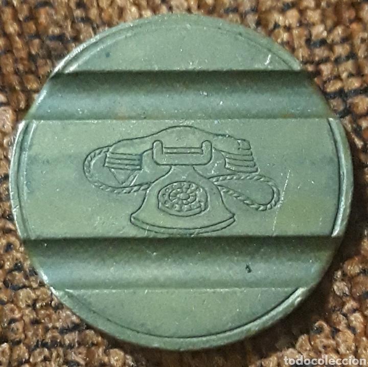 Monedas locales: Moneda token teléfono n°7905 - Foto 2 - 245977010