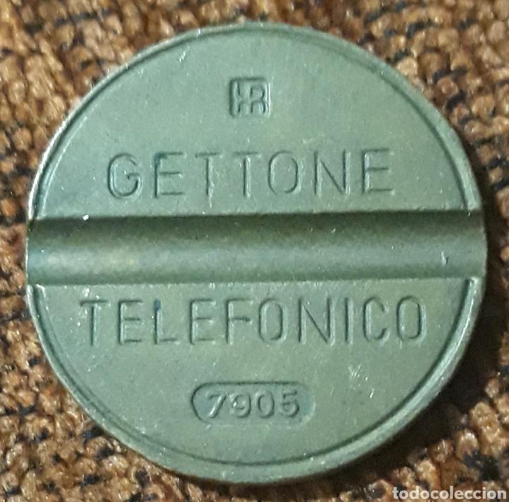 MONEDA TOKEN TELÉFONO N°7905 (Numismática - España Modernas y Contemporáneas - Locales y Fichas Dinerarias y Comerciales)