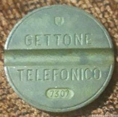 Monedas locales: MONEDA TOKEN TELÉFONO N°7307. Lote 246025310