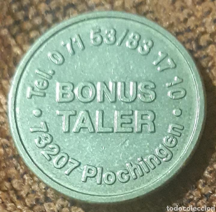 Monedas locales: Moneda token bonus taler Plochingen - Foto 2 - 246026590