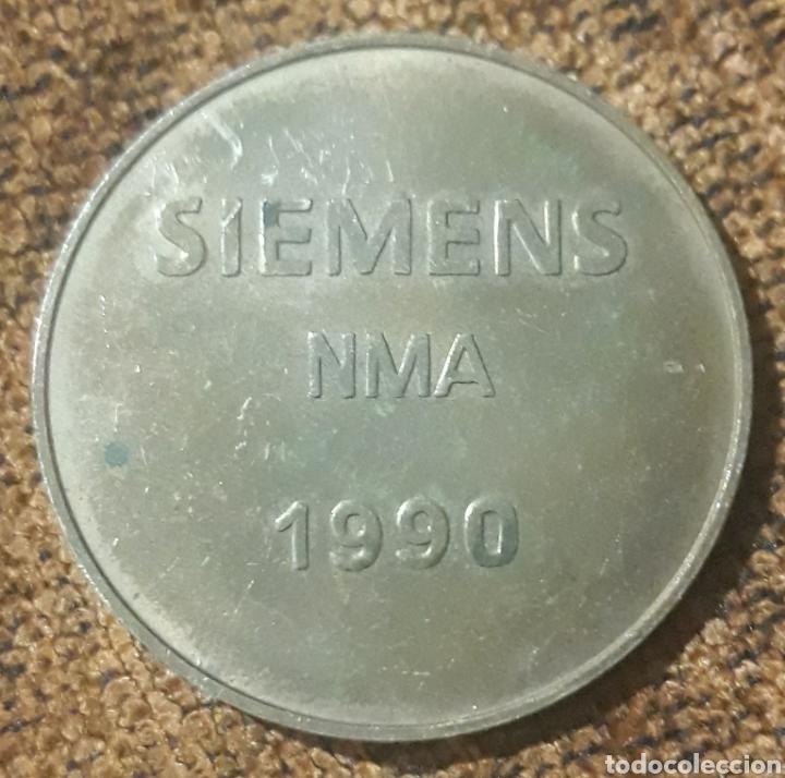Monedas locales: Moneda token Nurnberg Siemens nma 1990 - Foto 2 - 246028095