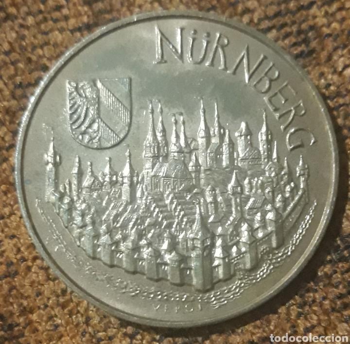 MONEDA TOKEN NURNBERG SIEMENS NMA 1990 (Numismática - España Modernas y Contemporáneas - Locales y Fichas Dinerarias y Comerciales)