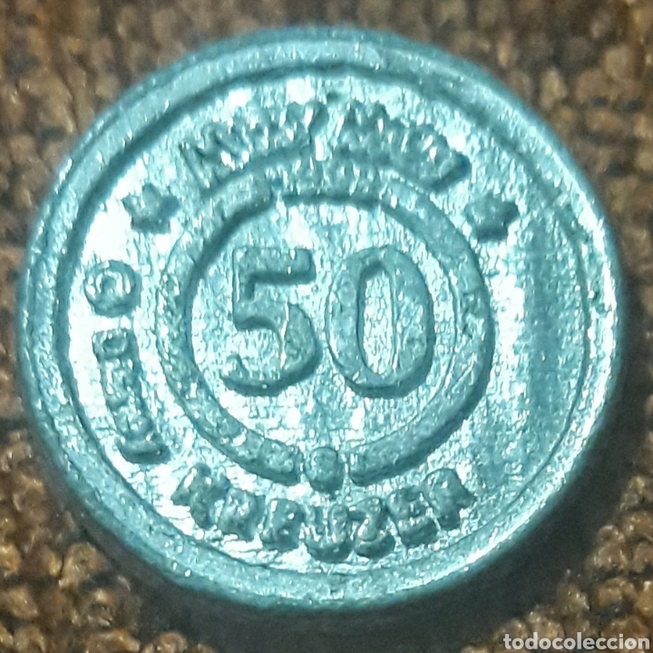 Monedas locales: Moneda token 50 Kreuzer Entenhausener bank - Foto 2 - 246030105