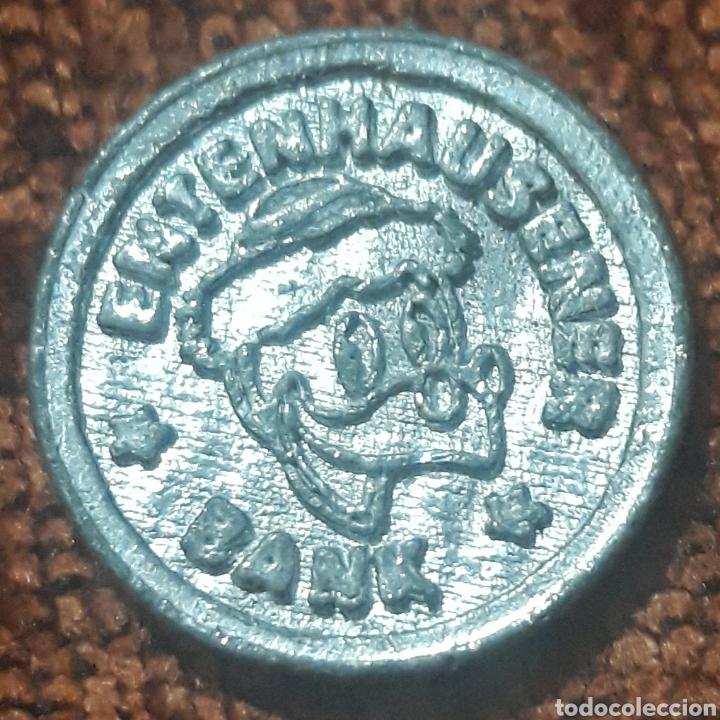 MONEDA TOKEN 50 KREUZER ENTENHAUSENER BANK (Numismática - España Modernas y Contemporáneas - Locales y Fichas Dinerarias y Comerciales)