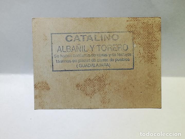 Monedas locales: CATALINO. TORERO Y ALBAÑIL. VALE DE 20 CENTIMOS. 1938. GUADALAJARA. VER DORSO - Foto 2 - 246145155