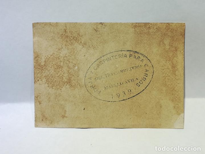 Monedas locales: FORJA Y CARPINTERIA DEL TIO CARRETERO. VALE DE 5 CENTIMOS. 1939. MAELLO, AVILA. VER DORSO - Foto 2 - 246156995