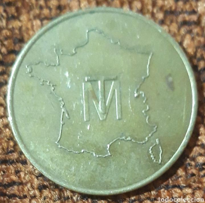 MONEDA TOKEN FRANCIA TM (Numismática - España Modernas y Contemporáneas - Locales y Fichas Dinerarias y Comerciales)