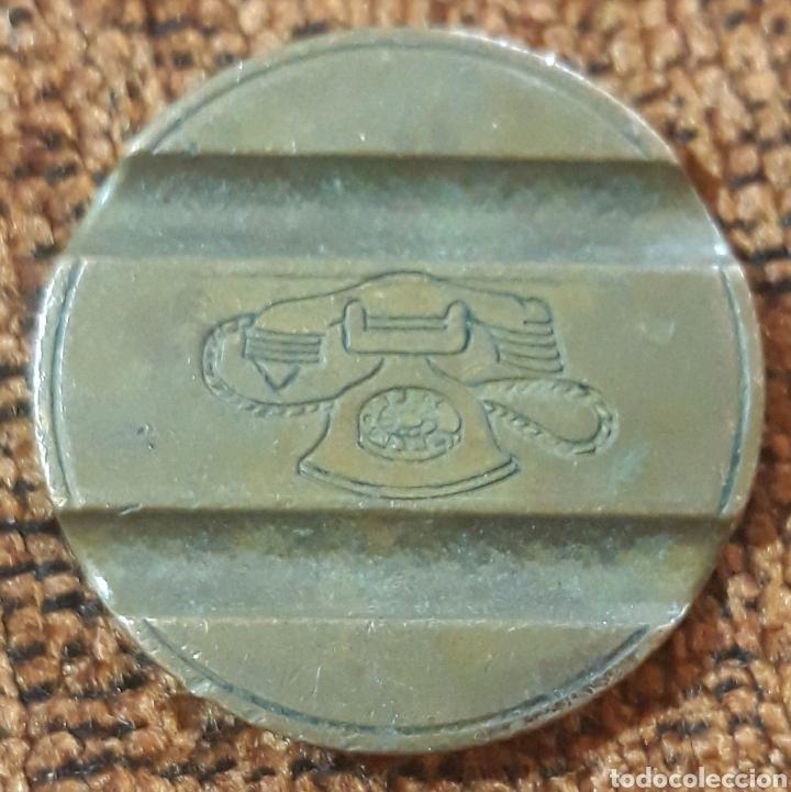 Monedas locales: Moneda token teléfono n°7711 - Foto 2 - 246282175