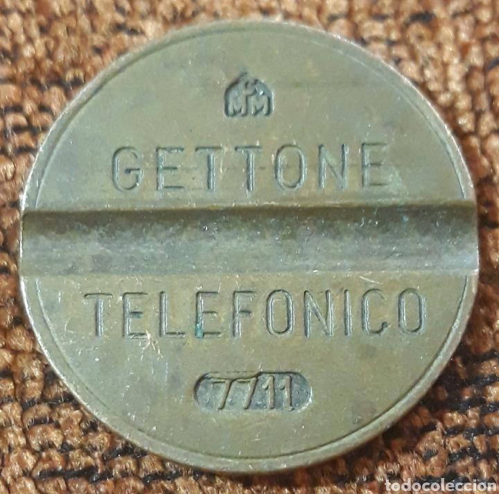 MONEDA TOKEN TELÉFONO N°7711 (Numismática - España Modernas y Contemporáneas - Locales y Fichas Dinerarias y Comerciales)