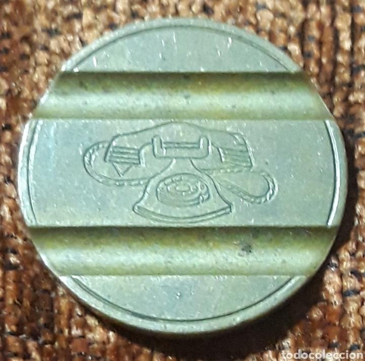 Monedas locales: Moneda token teléfono n°7906 - Foto 2 - 246726430