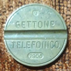 Monedas locales: MONEDA TOKEN TELÉFONO N°7906. Lote 246726430