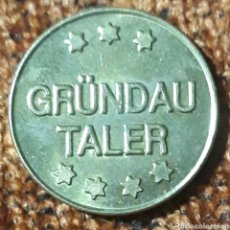 Monedas locales: MONEDA TOKEN GRÜNDAU TALER FALKEN APOTHEKE. Lote 246732200