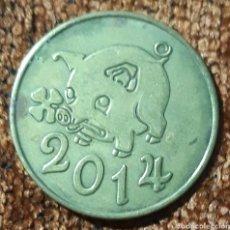 Monedas locales: MONEDA TOKEN 775 JAHRE 1239 - 2014 PERLEBERG. Lote 246756760