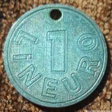 Monedas locales: MONEDA TOKEN 1 LINEURO. Lote 246771080