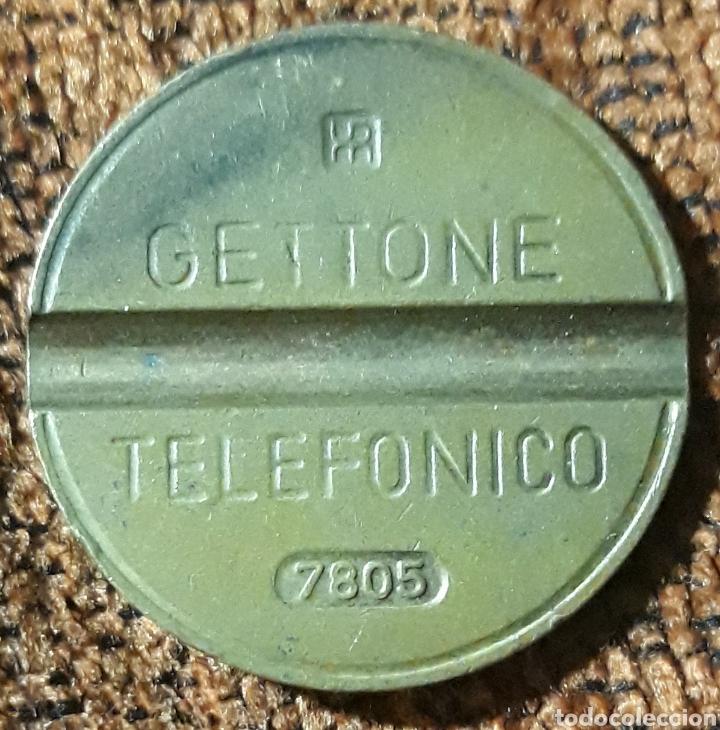 MONEDA TOKEN TELÉFONO N°7805 (Numismática - España Modernas y Contemporáneas - Locales y Fichas Dinerarias y Comerciales)