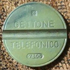 Monedas locales: MONEDA TOKEN TELÉFONO N°7805. Lote 246808215