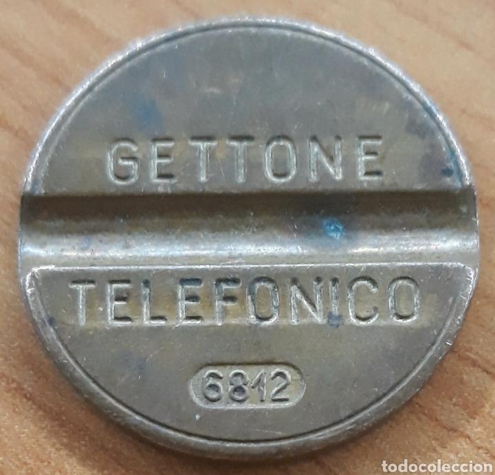 MONEDA TOKEN TELÉFONO N°6812 (Numismática - España Modernas y Contemporáneas - Locales y Fichas Dinerarias y Comerciales)